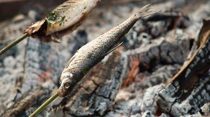 """Neringa vilioja ant laužo kepta žuvimi – savaitgalį rengiamos tradicinės """"Žiobrinės"""""""