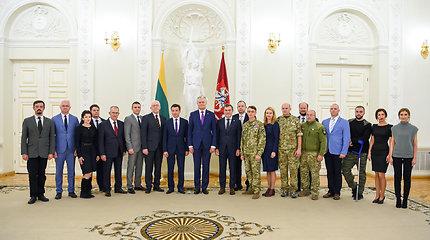 G.Nausėda: Lietuva ir toliau ketina aktyviai teikti paramą Ukrainos žmonėms