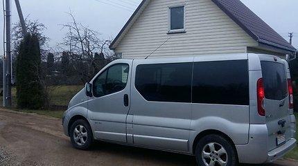 Vilkaviškiečio įsigytas naudotas mikroautobusas, kaip ir verslo planas – subyrėjo