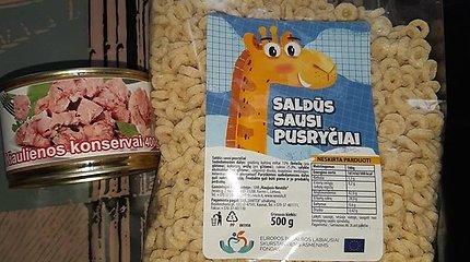 Europinė dieta skurdžiausiems: mėnesiui – dėžutė konservų ir dribsnių pakelis