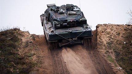 """Sąjungininkų tankas """"Leopard"""": """"Rolls-Royce"""" sūnėnas ir """"Belaz"""" pusbrolis?"""