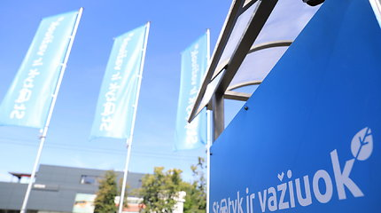 """Vilniuje atidaryta dar viena """"Statyk ir važiuok"""" aikštelė"""