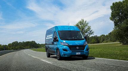 """Pirmasis elektrinis """"Fiat"""" mikroautobusas jau netrukus bus pristatytas Europai"""