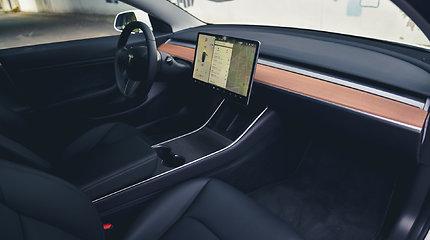 """Tesla Model 3"" apžvalga"