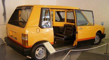 """Štai kaip 1976 metais """"Volvo"""" įsivaizdavo ateities taksi"""