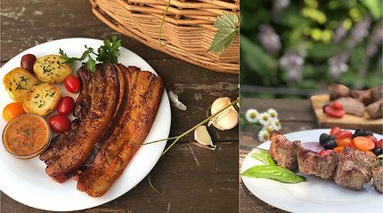 Marinuoti kiaulienos kepsniai – pavyks ir virtuvės naujokui