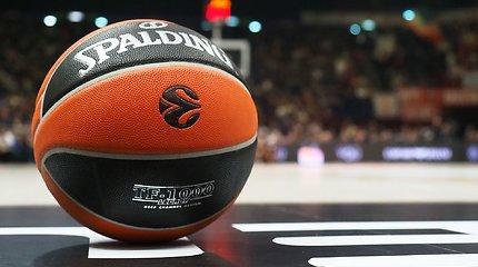Bylą prieš FIBA pralaimėjusi Eurolyga turės sumokėti beveik milijoną eurų