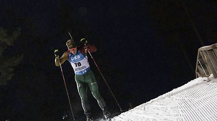 Pirmuosius naujosios biatlono rungties čempionų titulus iškovojo L.Banys ir G.Leščinskaitė