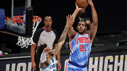 "LaMarcusas Aldridge'as puikiai debiutavo su ""Brooklyn Nets"" apranga"