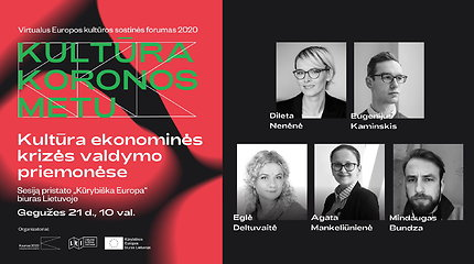 Europos kultūros sostinės forumas: kultūra ekonominės krizės valdymo priemonėse