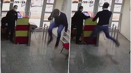Slaptos kameros užfiksavo nesuvaidintą džiaugsmą – sulaukęs skambučio futbolininkas šokinėjo iš laimės