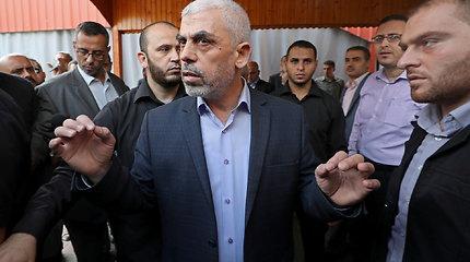 """""""Hamas"""" pareigūnas: """"Hamas"""" lyderiu Gazoje perrinktas Y.Sinwaras"""