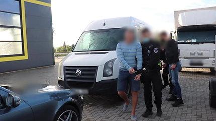 Tarptautinės operacijos metu sulaikyta 18 asmenų galimai priklausančių nusikalstamam susivienijimui