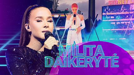 Alter(Eurovizija): M.Daikerytė suabejojo australų atlikėja – dainos pabaigoje matyti, kad ji pavargo