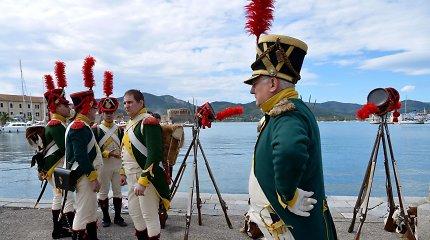 Italijos saloje minimos imperatoriaus Napoleono tremties 200-osios metinės
