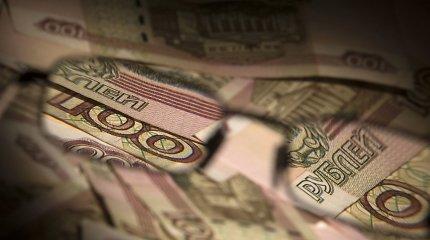 Rusijos gyventojų realiosios pajamos mažėjo ketvirtus metus iš eilės – kitaip bei prognozavo valdžia