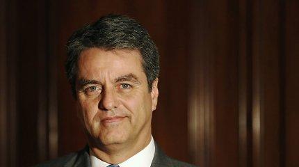 """PPO vadovas: dėl protekcionistinės politikos egzistuoja """"aiški"""" prekybinio karo grėsmė"""