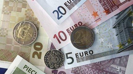 Į eurus nebuvo iškeista 4 proc. apyvartoje cirkuliavusių Latvijos latų