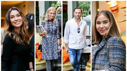Vestuvių renginio pristatyme – žinomi veidai: apsilankė ir mados namų modeliu tapusi Tatjana Lavrinovič