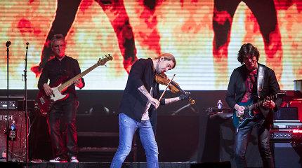 Vilniuje – ugningas smuiko virtuozo Davido Garretto pasirodymas: nuo Holivudo technologijų iki duoklės klasikams