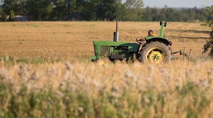 Lietuvos ūkininkai rengia taikią akciją Briuselyje dėl tiesioginių išmokų