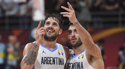 """Kinijoje sidabrą nuraškęs buvęs """"Ryto"""" gynėjas: """"Pasaulis sužinojo, kas yra Argentina"""""""