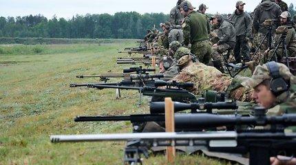 Jubiliejinėse snaiperių varžybose taikliausi – lietuviai