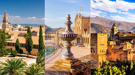 Musulmoniškoji Ispanija: Kordoba, Sevilija ir Granada