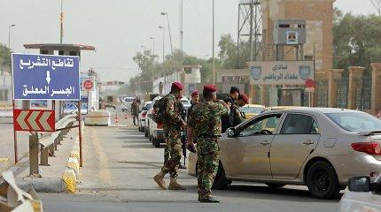 Bagdade netoli JAV ambasados sprogo dvi raketos