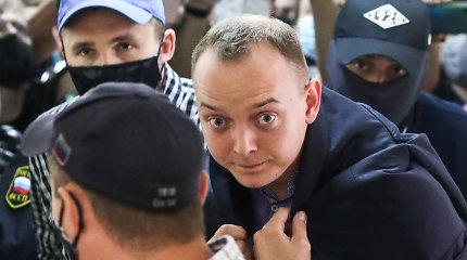Suimto I.Safronovo buvę kolegos stebisi, bet tikrasis arešto taikinys – D.Rogozinas