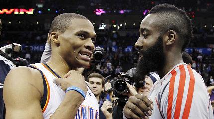 Individualių NBA apdovanojimų nugalėtojai paaiškės tik po keleto mėnesių