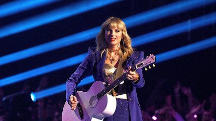 Pasaulinio garso atlikėja Taylor Swift