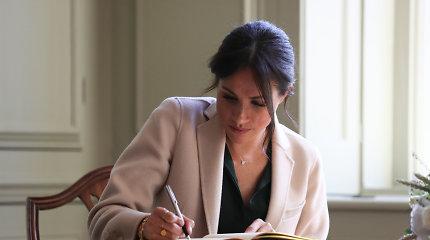 M.Markle debiutuos kaip knygos vaikams autorė: įkvėpė princui Harry kurtas eilėraštis sūnaus gimimo proga