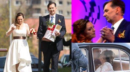 TV studijoje susituokęs tarologas L.Malinauskas – vėl vienišas: išsiskyrė su 23 metais jaunesne žmona