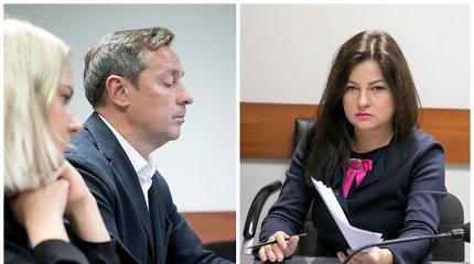 Besiskiriantys Zuokai susitiko teisme: Agnė užsiminė apie sutuoktinio neištikimybę