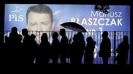 Lenkija prieš rinkimus: skirtingos nuomonės lemia tylą prie pietų stalo
