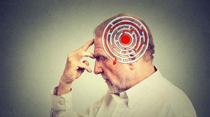Įdomus smegenų fenomenas: kodėl demencija sergančio žmogaus protas prieš mirtį prašviesėja?