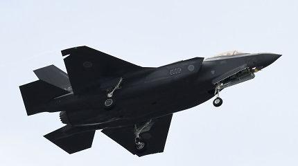 Japonijoje nutraukta sudužusio naikintuvo F-35 paieška