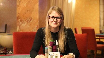 """""""PokerStars Open"""" turnyre sėkmingai startavo Rūta Ismailova"""