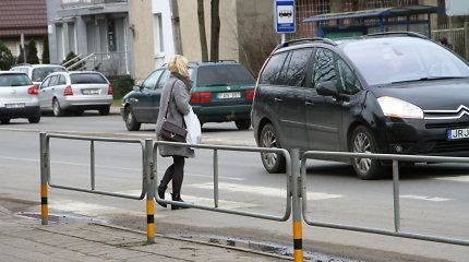 Panevėžio policija fiksavo pėsčiųjų nepraleidimo atvejus – vairuotojų laukia protokolai