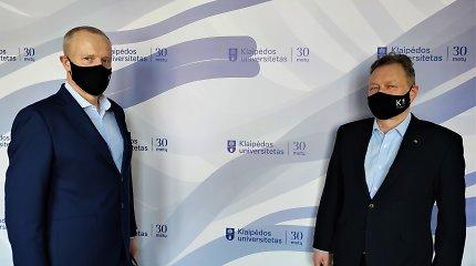 Verslas susibūrė Klaipėdos universiteto ateities vardan: įsteigtas KU ateities paramos fondas