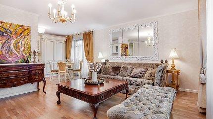 Aruodas.lt: Vilniaus senamiestyje parduodamas temperamentingos dailininkės kurtas būstas