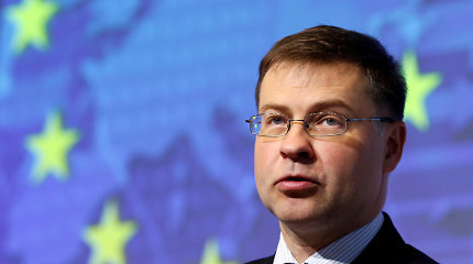 V.Dombrovskis atsisakys Europos Komisijos pirmininko pavaduotojo mandato