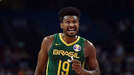 Vienu galingu spurtu Brazilija nokautavo Naująją Zelandiją