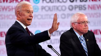 Krizė dėl Irano verčia JAV demokratų kandidatus kalbėti apie užsienio politiką