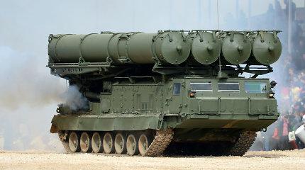Rusijos gynybos ministras pranešė, kad į Siriją buvo pristatytos sistemos S-300