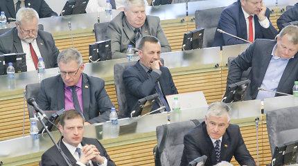 """Seimo """"valstiečių"""" populiarumas: dalis politikų – nematomi žmonės"""