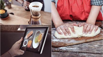 """2020-ųjų virtuvės iššūkiai: nuo raugo duonos ir """"namų kavinės"""" iki nostalgijos baltai mišrainei ir varškėčiams"""