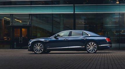 """Pradėtas """"Bentley Flying Spur"""" pristatymas klientams: įsigijo ir lietuviai"""