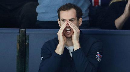 Andy Murray išpažintis – buvo video žaidimų maniaku